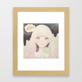 「Soy sauce Uchuuw」 Framed Art Print