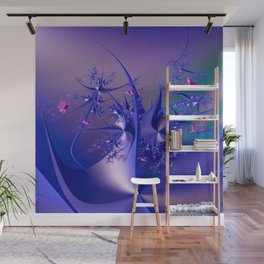 The dance of flowers Wall Mural