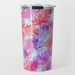 Feathers pattern Travel Mug