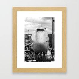 Prepare for Departure Framed Art Print