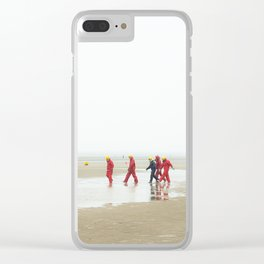 Water games Clear iPhone Case