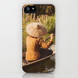 Vivid scene in Burma iPhone Case
