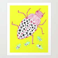 Roaches on a Sunny Day Art Print