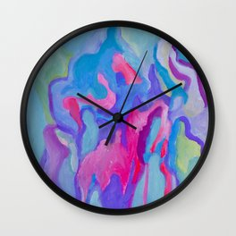 Energy of croud Wall Clock