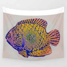 Sunfish Colors 2 Wall Tapestry