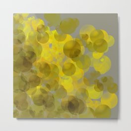 Bubble Delight Collection Metal Print