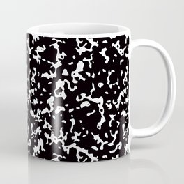 Black and White Composition Notebook Coffee Mug