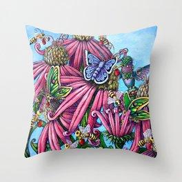 Bee's Needs Throw Pillow