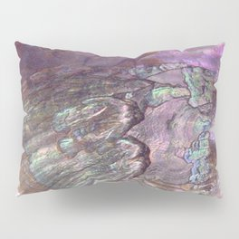 Shimmery Lavender Abalone Mother of Pearl Pillow Sham