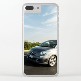 Abarth 595 Competizione Cabrio Clear iPhone Case