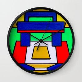 Machu Prime by Celteca Wall Clock