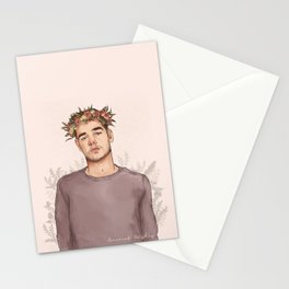 Flower crown Liam Stationery Cards