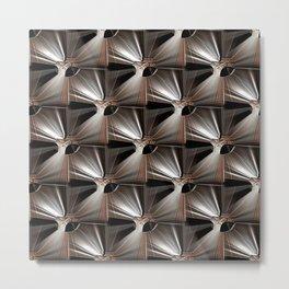 Metal Armour Screen Pattern Metal Print