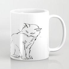 Cat illustration Mug