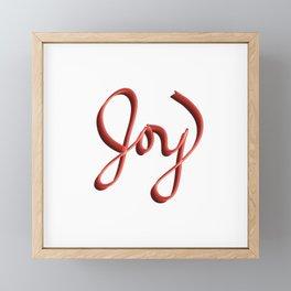 Pure Joy Framed Mini Art Print