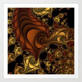 Cornucopia Fractal Art Print