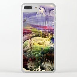 abstract composition 3 . artwork Clear iPhone Case