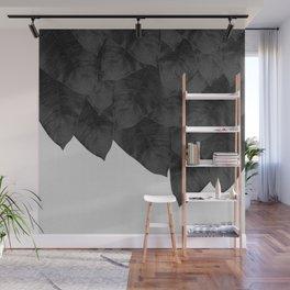 Banana Leaf Black & White I Wall Mural