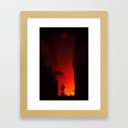 Zuko in the Valley Framed Art Print