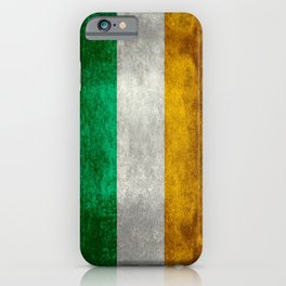 Republic of Ireland Flag, Vintage grungy iPhone Case