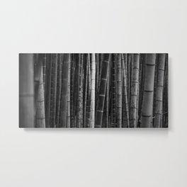 Bamboo H Metal Print