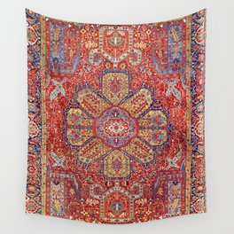 Heriz Azerbaijan Northwest Persian Carpet Print Wall Tapestry