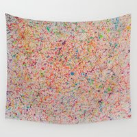 sprinkles Wall Tapestries featuring Sprinkles by Candy Circles
