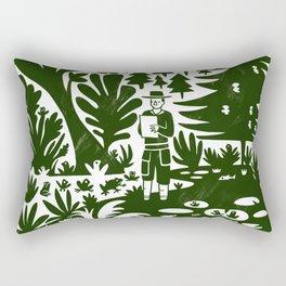 Erik of the Woods Rectangular Pillow