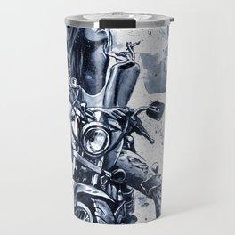Biker Girl Travel Mug