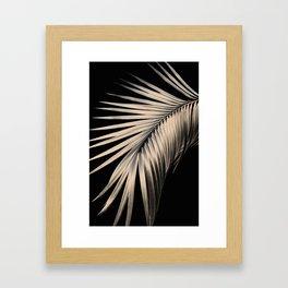 Palm Leaf Dream #1 #tropical #decor #art #society6 Framed Art Print