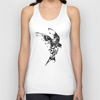 freedom Tank Tops featuring Freedom by KUI29