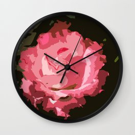 Rosegarden Rose Wall Clock