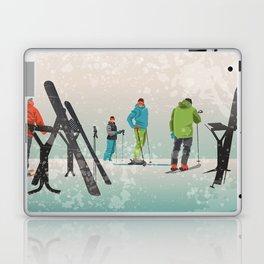 Skiers Summit Laptop & iPad Skin