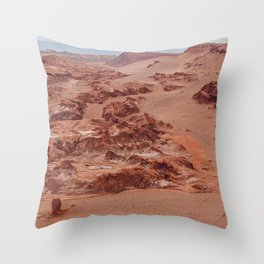 Valle de la Luna, Chile Throw Pillow