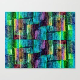 Abstract square wall Canvas Print