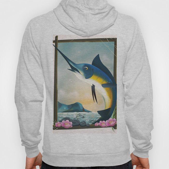 Fishing poster Hoody