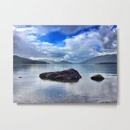 Whitefish Lake Metal Print