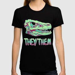 Velociraptor Skull T-shirt