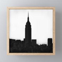 An Empire State Framed Mini Art Print