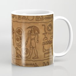 Egyptian Hieroglyphic Art Coffee Mug