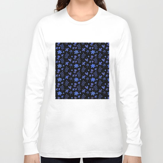 Colorful Lovely Pattern VI Long Sleeve T-shirt
