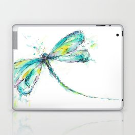 Watercolor Dragonfly Laptop & iPad Skin