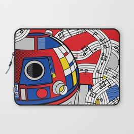Star Wars Pop Art - Abstract R2D2 Laptop Sleeve