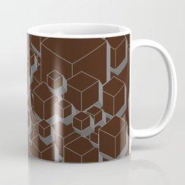 3D Futuristic Cubes VI Coffee Mug