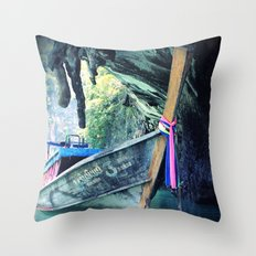 Longboat Throw Pillow