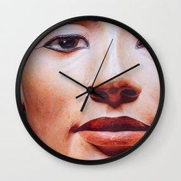 The Face of Nefertiti Wall Clock