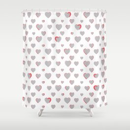 Made for you my heart 27 Shower Curtain