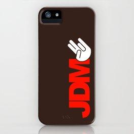 JDM shocker v5 HQvector iPhone Case