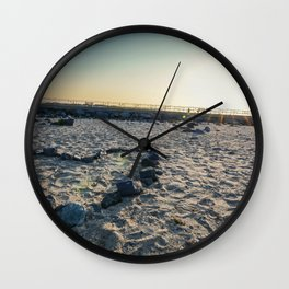 Sunrise at Barnegat Light Wall Clock