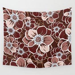 Mandala Flowers 13 Wall Tapestry
